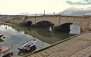 Grade II* listed buildings in East Devon - Image: Seaton, The Old Concrete Bridge geograph.org.uk 1720561
