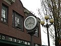 Seattle - Columbia City - street clock 01.jpg