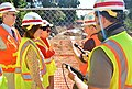Secretary Darcy, Rep. Matsui visit Sacramento levee project (6195921662).jpg