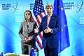 Secretary Kerry and EU High Representative Mogherini at the 2016 Nuclear Security Summit in Washington (26105331441).jpg
