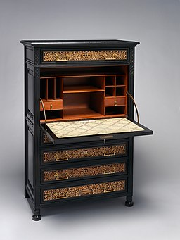 Secretary Desk from the Jay Gould House, New York City MET DP341693