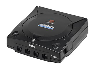 "Dreamcast - The limited-edition black ""Sega Sports"" model."