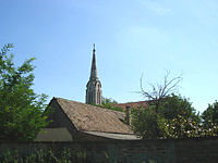 The Roman Catholic church in Ivanovo, Serbia