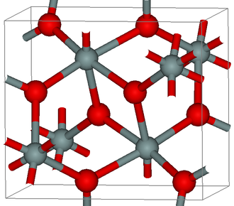 Seifertite - Crystal structure