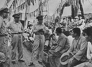 Syngman Rhee Line - Seizure of Japanese ships by the Korea Coast Guard (December 1953)