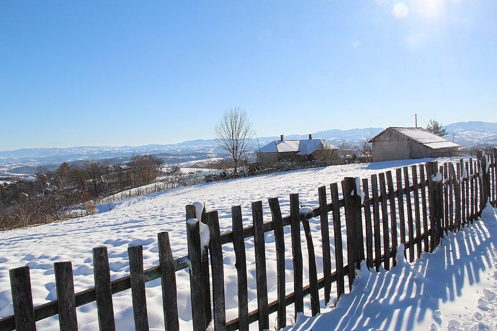 Selo Ogladjenovac - opština Valjevo - zapadna Srbija - panorama 4