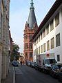 Seminarstraße Heidelberg, Ausschnitt Historisches Seminar, Uni Bibliothek IMG 0178.jpg