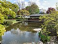 Setagaya Park, pond and tea house, img 2.jpg