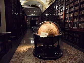 Palazzo Poggi - Image: Seventeenth century globe Palazzo Poggi