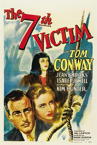 The Seventh Victim - Theatrical release poster