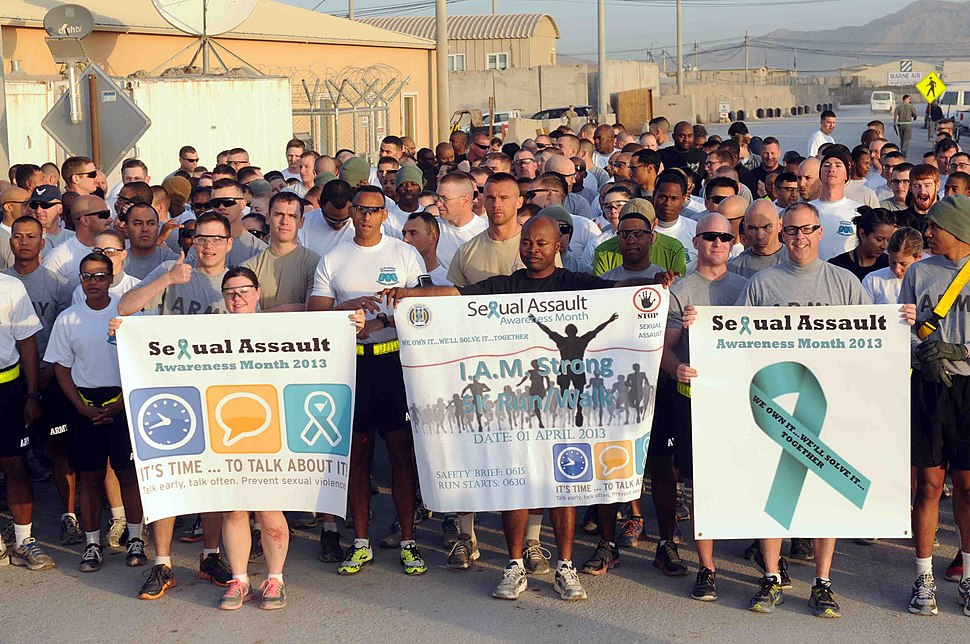 Sexual Assault Awareness Month in Afghanistan 130331-A-VM825-100