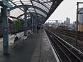 Shadwell DLR stn look west.JPG