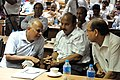 Shaik Jeelani Saheb - Samarendra Kumar - Emdadul Islam - Technology in Museums Session - VMPME Workshop - Science City - Kolkata 2015-07-16 9175.JPG