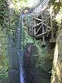 Shanklin Chine waterfall 2.JPG