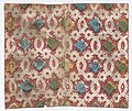 Sheet with overall lattice pattern with rosettes Met DP886635.jpg