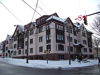 Sherbrook Apartments (Syracuse, New York) United States historic place