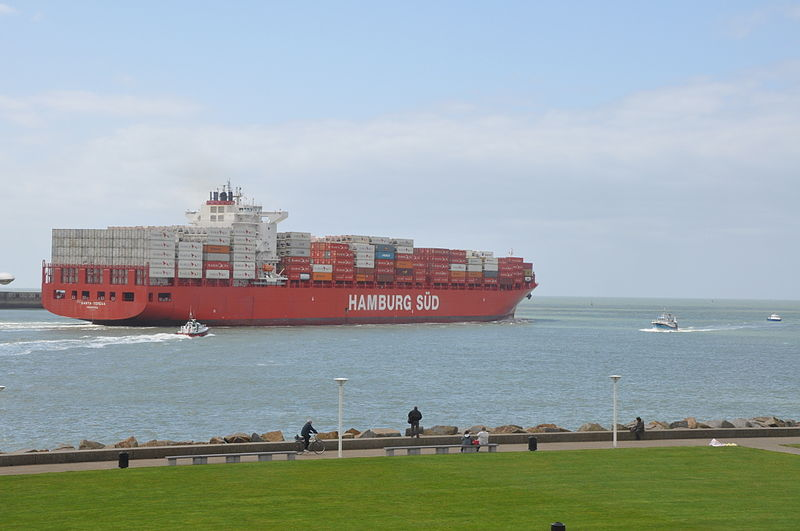 File:Ship Santa Teresa (Monrovia) leaving port of Le Havre (France).JPG