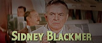 Sidney Blackmer - Blackmer in The High and the Mighty