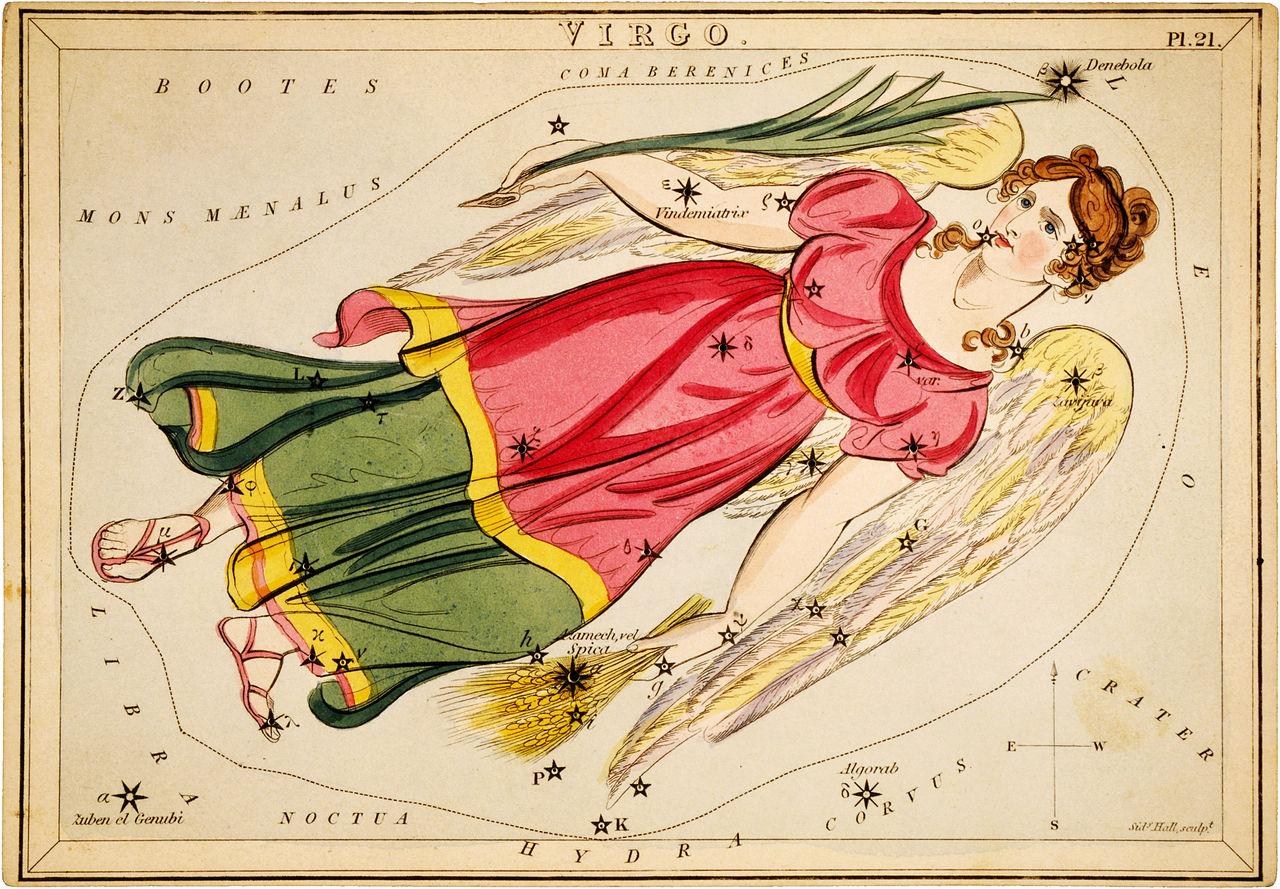Horoscope Compatibility Birth Chart: Sidney Hall Virgo 1825.jpg - Wikimedia Commons,Chart