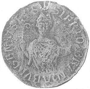 Siegfried, Prince-Archbishop of Bremen - Image: Siegel Bischof Siegfried I. von Brandenburg