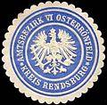 Siegelmarke Amtsbezirk VI Osterrönfeld - Kreis Rendsburg W0259873.jpg
