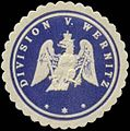 Siegelmarke Division V. Wernitz W0337727.jpg