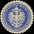 Siegelmarke K. Marine Befehlshaber der baltischen Gewässer W0357523.jpg