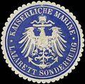 Siegelmarke K. Marine Lazarett Sonderburg W0357544.jpg