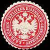Siegelmarke Kaiserlich Königlich Preussisch Aussig - Teplitzer Eisenbahn - Gesellschaft W0213165.jpg