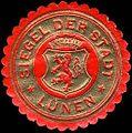 Siegelmarke Siegel der Stadt - Lünen W0225270.jpg