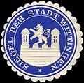 Siegelmarke Siegel der Stadt Wittingen W0216164.jpg