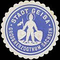 Siegelmarke Stadt Geisa Gr. Sachsen W0356324.jpg