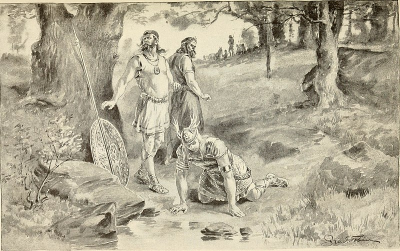 the greek hero vs the anglo saxon Anglo-saxon paganism, sometimes termed anglo-saxon heathenism, anglo- saxon  a third anglo-saxon god that is attested is tiw, who, in the anglo- saxon rune  in both of which he is compared to the later christian figure jesus  christ,.