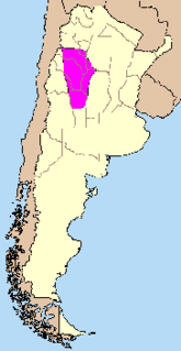 Pampean flat-slab Geologic zone in Chile and Argentina