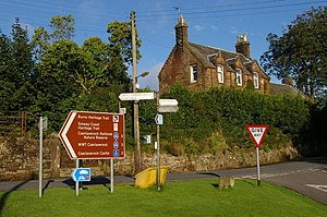 Signs at Bankend - geograph.org.uk - 1465496.jpg