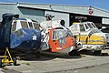 Sikorsky line-up – Yanks Air Museum (26234662806).jpg