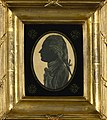 Silhouette of Cuthbert Collingwood drawn by Horatio Nelson when both were serving in the West Indies RMG PT3942.jpg