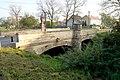 Silniční most se sochou svatého Jana Nepomuckého, Tmáň (městys Zlonice, okres Kladno 01.JPG