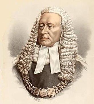 Sir Alexander Cockburn, 12th Baronet - Image: Sir Alexander Cockburn LCJ