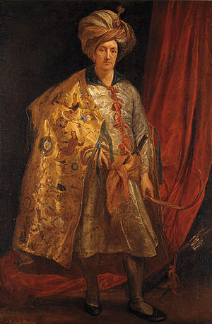 Robert Shirley - Sir Robert Shirley, by Anthony van Dyck, painted in Rome in 1622.