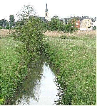 Syre (river) - Syre near Schuttrange