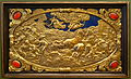 Six Mythological Scenes, 2 The Death of the Niobids, Antonio Gentili, Rome, c. 1600 AD, modelled c. 1552-1555 AD, gold plate with precious stones - Bode-Museum - DSC02536.JPG