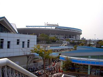 Kobe Sports Park Baseball Stadium - Kobe Sports Park Baseball Stadium (Hotto Motto Field Kobe)