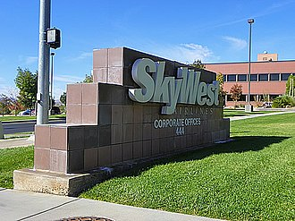 SkyWest Airlines - SkyWest Airlines headquarters in St. George, Utah