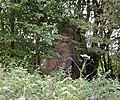 Slatehole Lodge ruins, Auchinleck Estate, East Ayrshire - view from the west.jpg