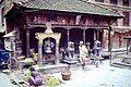 Small Temple Bhaktapur, Nepal. 1979.jpg