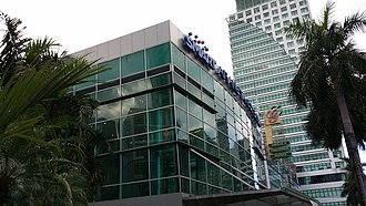 Araneta Center - The Smart Araneta Coliseum, with the Gateway Mall, and The Gateway Tower