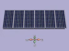 File:Solar tracker upon Z axix - front view.ogv