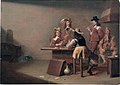 Soldiers smoking and playing cards, by Jan Olis.jpg