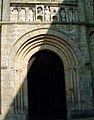 Solignac - Eglise abbatiale - Porte du bras Nord du transept.JPG